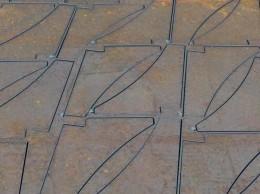 Steel plates 8, st.3