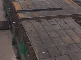 Hot-rolled steel plates 8 and 10, st. 3
