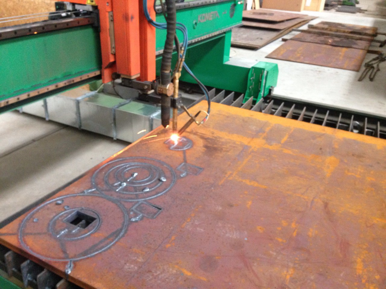 Hot-rolled steel plates 30, st.3